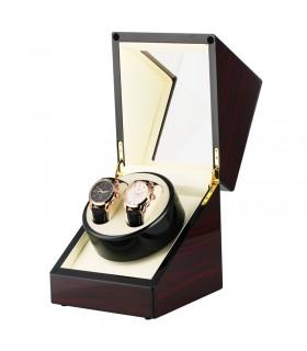 Кутия за навиване на 2 автоматични часовника