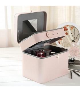 Куфар за козметика на две нива
