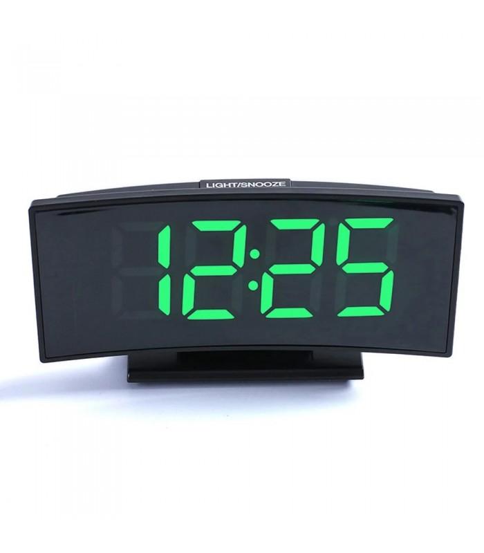 Настолен часовник със зелени цифри - модел 3621 - 1