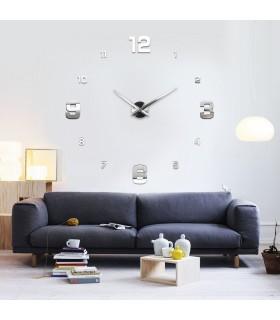 Стенен часовник с 3Д цифри - модел 4205 - 2