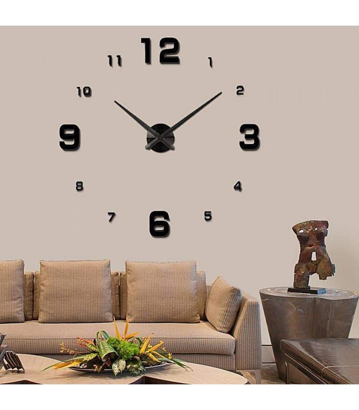 Стенен часовник с 3Д цифри - модел 4205 - 3