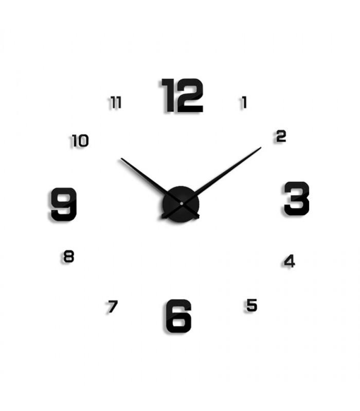 Стенен часовник с 3Д цифри - модел 4205 - 6