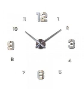 Стенен часовник с 3Д цифри - модел 4205 - 7