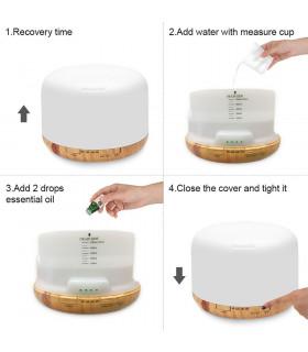 Ултразвуков дифузер за етерични масла - 7