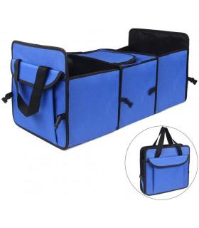 Сгъваем органайзер за автомобилен багажник с термо отделение - 9