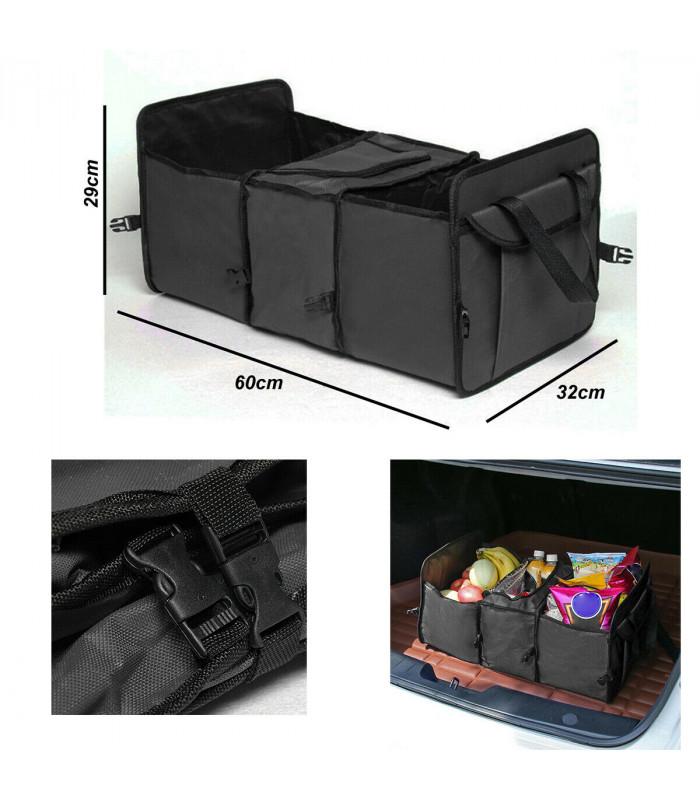 Сгъваем органайзер за автомобилен багажник с термо отделение - 10