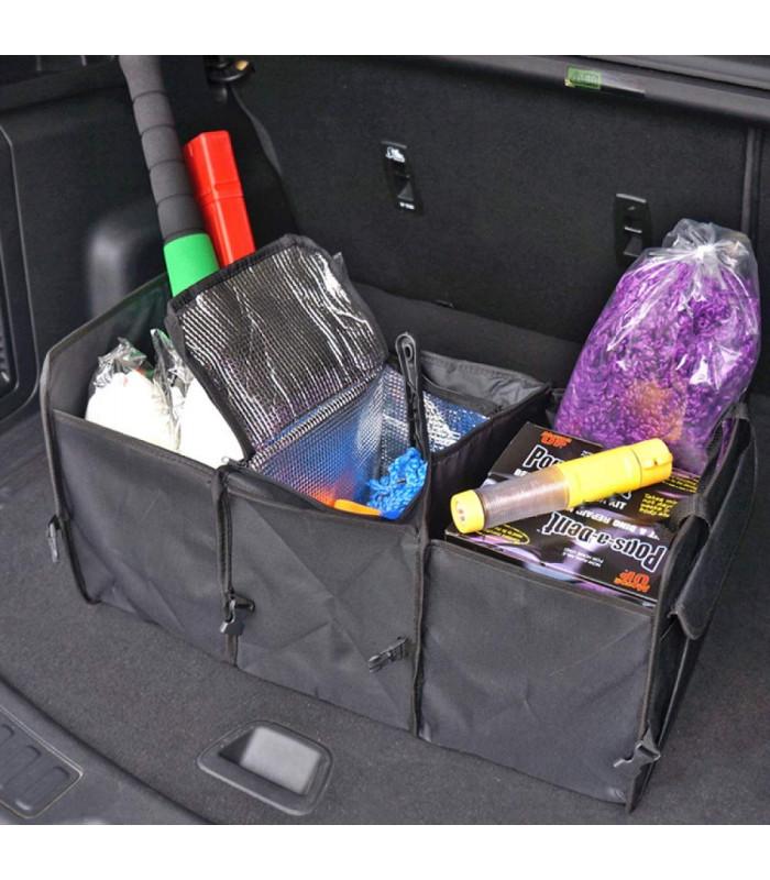 Сгъваем органайзер за автомобилен багажник с термо отделение - 2
