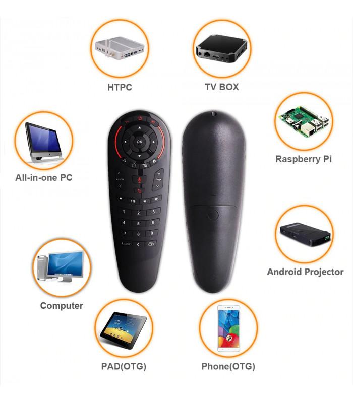 Air Mouse безжична мишка с 33 бутона за Smart TV или TV Box - 8