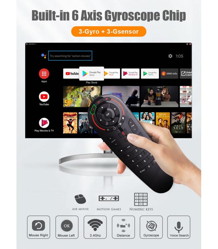 Air Mouse безжична мишка с 33 бутона за Smart TV или TV Box - 2