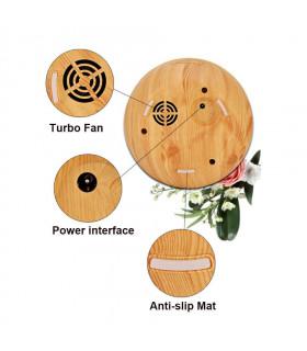 Дифузер за ароматерапия с етерични масла и LED светлини - 9