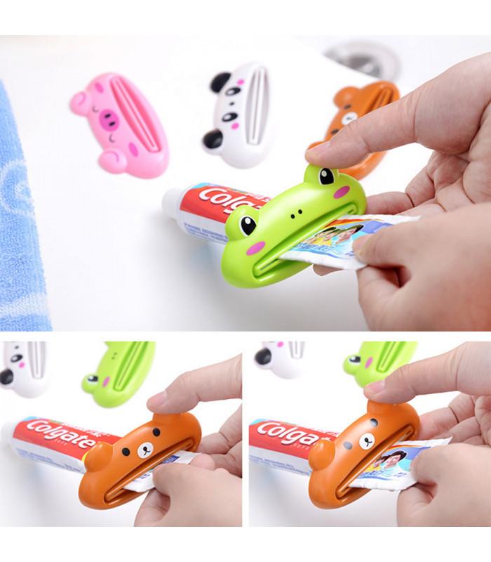 Детска изстисквачка за паста за зъби - животинче - 3
