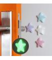 """Самозалепващ фосфоресциращ стопер за врата """"Звезда"""""""