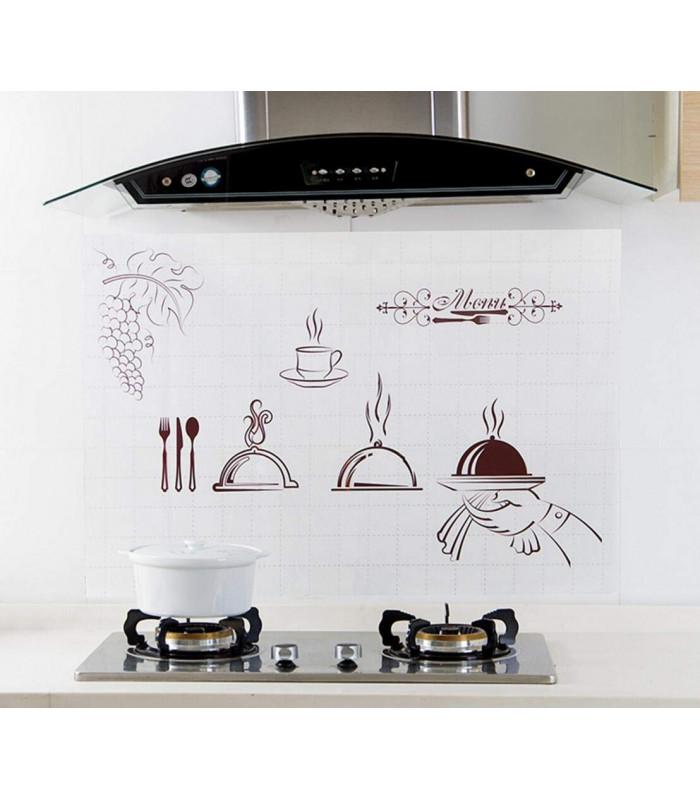 Стикер фолио за кухня - предпазващ от мазните пръски - 1