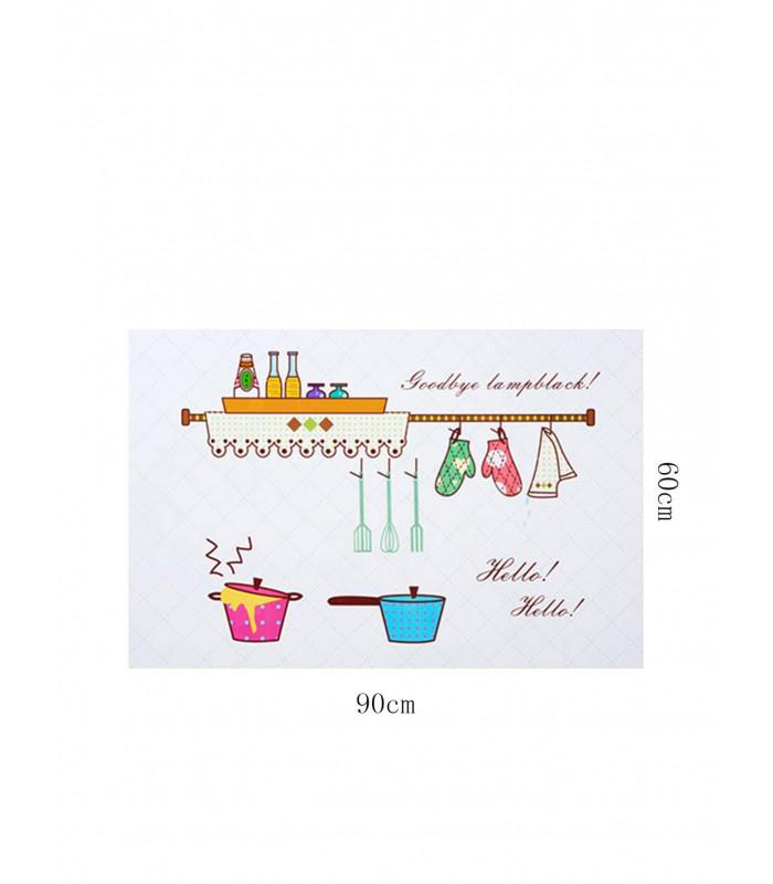 Стикер фолио за кухня - предпазващ от мазните пръски - 4