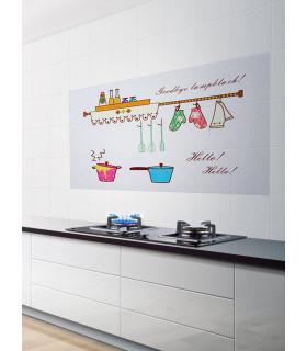 Стикер фолио за кухня - предпазващ от мазните пръски - 5