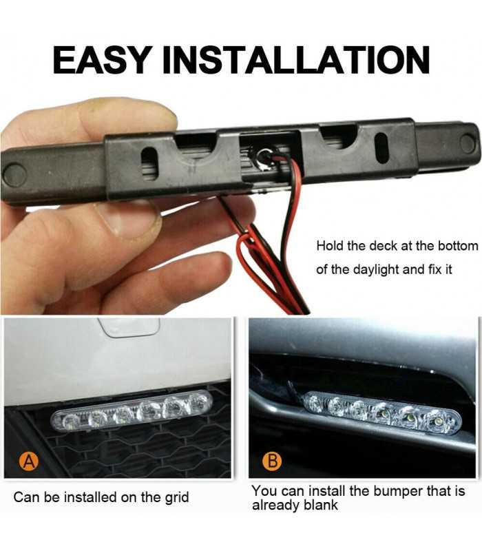 LED Daytime Running Light за автомобили - 8