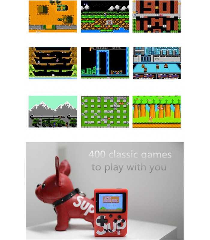 Преносима ретро конзола с 400 игри - 6