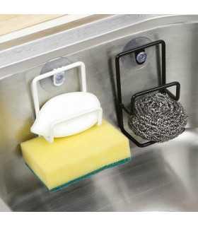 Метална поставка за кухненска гъба и телчета - 1