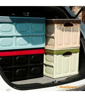 Сгъваем пластмасов органайзер за багажник на кола - 5