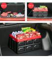 Сгъваем пластмасов органайзер за багажник на кола