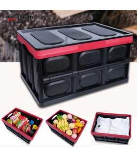 Сгъваем пластмасов органайзер за багажник на кола - 4