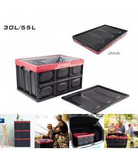 Сгъваем пластмасов органайзер за багажник на кола - 6