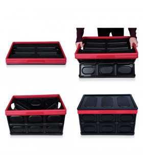 Сгъваем пластмасов органайзер за багажник на кола - 3