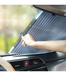 Разтягащ сенник за предното стъкло на кола - 1