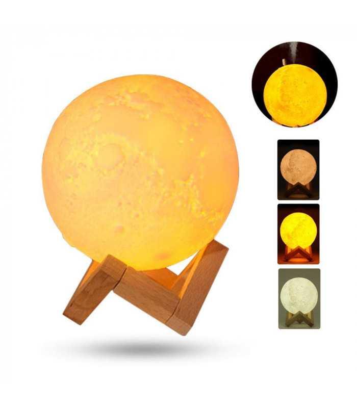 3D дифузер Луна със стойка - 3