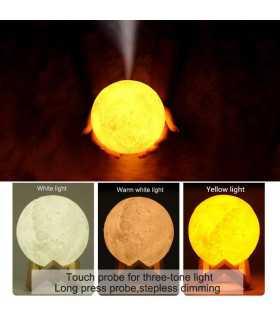 3D дифузер Луна със стойка - 4