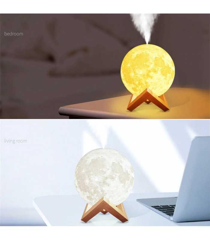 3D дифузер Луна със стойка - 2