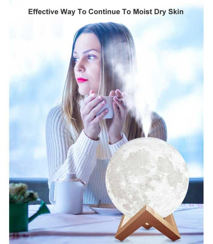 3D дифузер Луна със стойка - 10