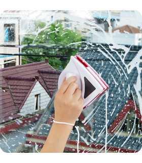 Уред за двустранно почистване на прозорци с магнит - 1
