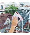 Уред за двустранно почистване на прозорци с магнит