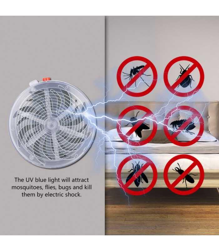 Соларен уред против за мухи и комари - 4