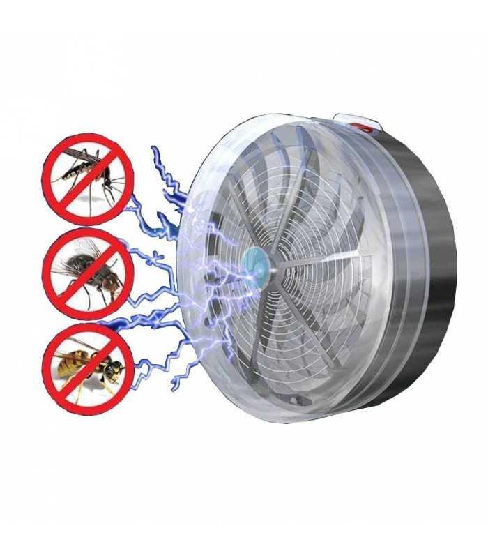 Соларен уред против за мухи и комари - 6
