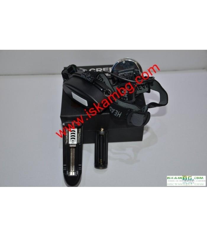 Акумулаторен челник CREE LED ( модел 807 )
