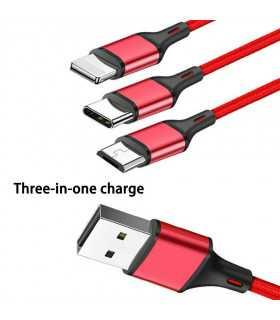 3в1 USB зарядно за телефон/смартфон - 7