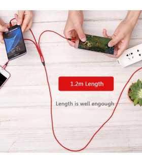 3в1 USB зарядно за телефон/смартфон - 8