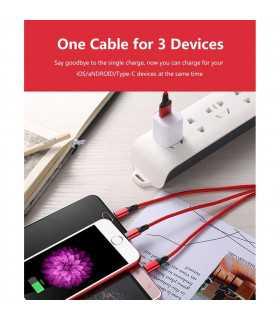 3в1 USB зарядно за телефон/смартфон - 9