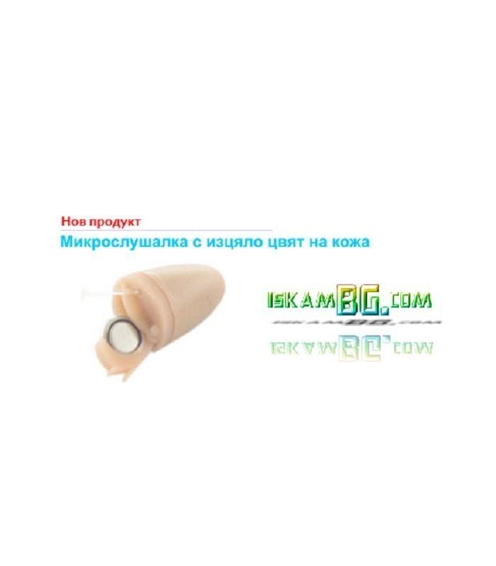 Микрослушалка с Bluetooth предавател тип огърлица
