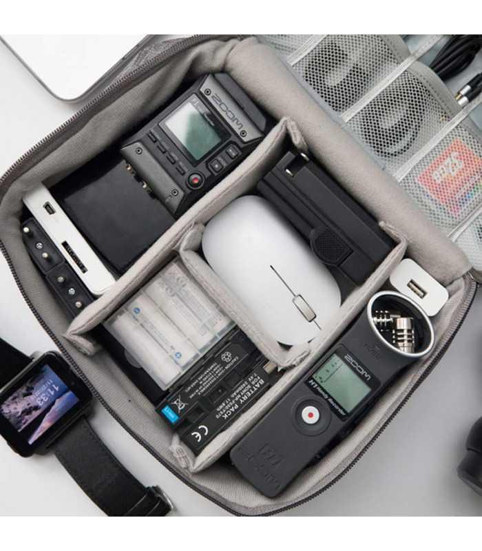 Органайзер за карти памет, кабели и зарядни - 6