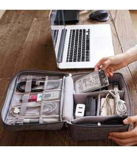 Органайзер за карти памет, кабели и зарядни - 1