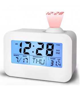 Часовник с проекция на час и активиране чрез пляскане - 1