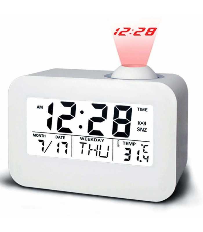 Часовник с проекция на час и активиране чрез пляскане - 5