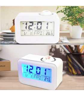 Часовник с проекция на час и активиране чрез пляскане - 6