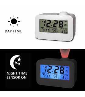 Часовник с проекция на час и активиране чрез пляскане - 3