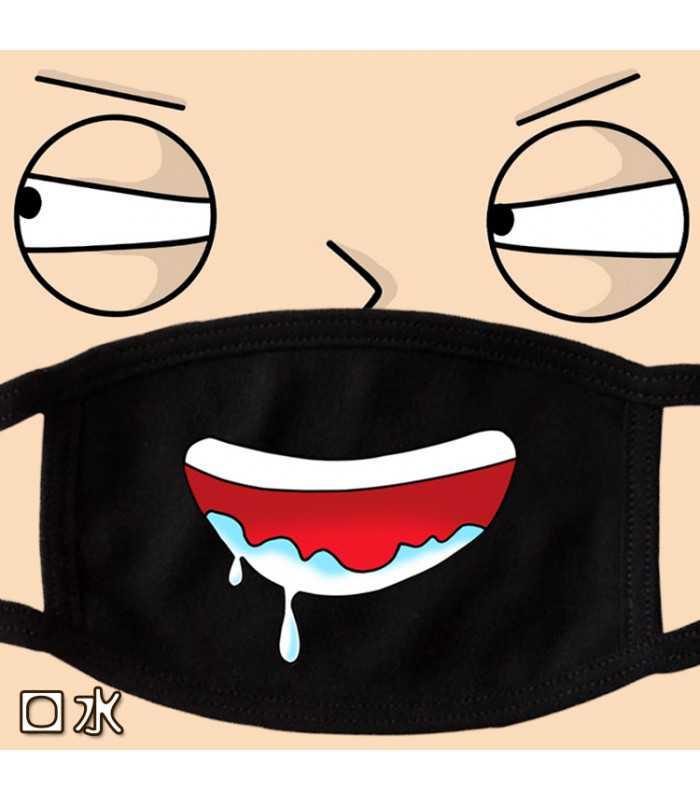 Забавна памучна маска за лице - 2