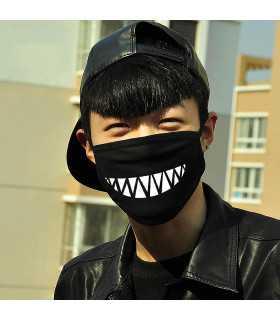 Забавна памучна маска за лице - 4