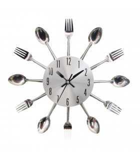 Стенен часовник за кухня вилици и лъжици - 1